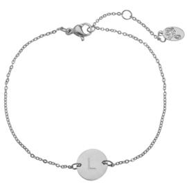 Armband - Initialen Zilver