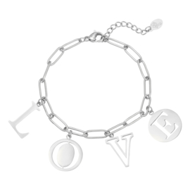 Armband - Letters Love