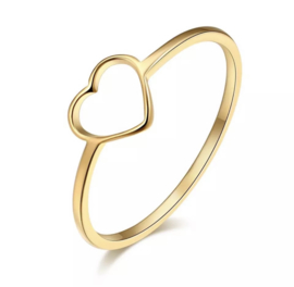 Ring - Open Hart