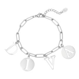 Armband - Letters Diva