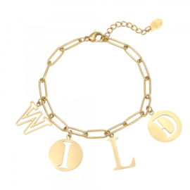 Armband - Letters Wild