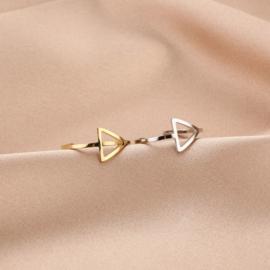 Ring - Open Driehoek