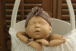 Newborn hoofdband keuze uit 15 verschillende kleuren