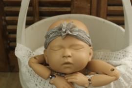 Newborn kanten hoofdband