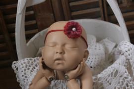 Newborn bloemen tieback
