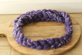 Posing braid paars