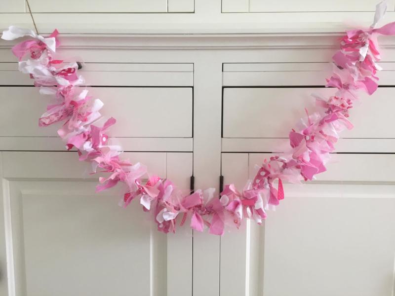 stoffen slinger roze