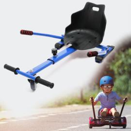 Hoverkart zitje voor Hoverboard blauw