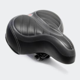 Universeel fietszadel geveerd 250x200x60mm