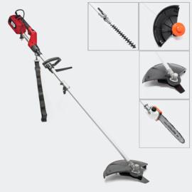 Elektrische multi tool tuin heggenschaar kettingzaag bosmaaier 4 in 1