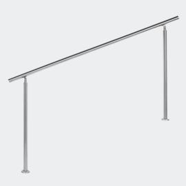 Leuning balustrade traprail rvs 180cm