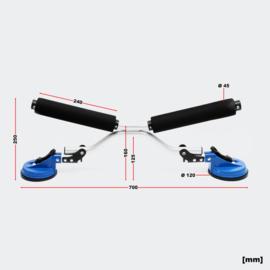 Bootroller aluminium kayak kano tot 100kg