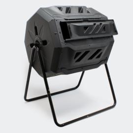 Compostvat trommelcomposteerder 160 liter draaibaar