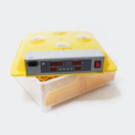 Broedmachine kweekmachine 56 eieren geel met kijkvensters