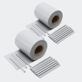 Balkondoek hekdoek privacydoek 70 meter 650 g/m² grijs