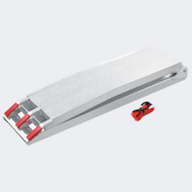 Oprijplaat opvouwbaar draagbaar aluminium 226cm 340kg