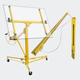 Gipsplaatlift PRO XXL gyproclift heftafel tot 68kg + uitbreiding