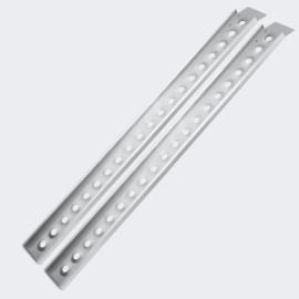Laadbrug oprijplaat draagbaar aluminium 2 stuks 160cm tot 364kg