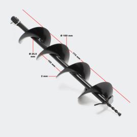 Grondboor gatenfrees 100mm