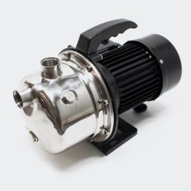Inox draagbare elektrische tuinpomp + control 1100W 4600l/h