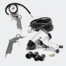 Perslucht compressor set accessoires boulonneuse 8-delig