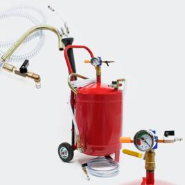 Pneumatische olie afzuiger oliepomp 22,7 liter