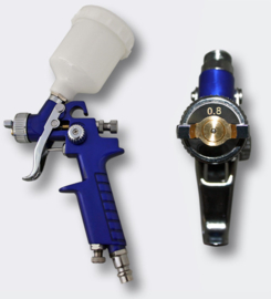 HVLP-spuitpistool H2000 mondstuk van 0,8 mm