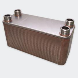 Warmtewisselaar platenwarmtewisselaar 50 platen 285 kW