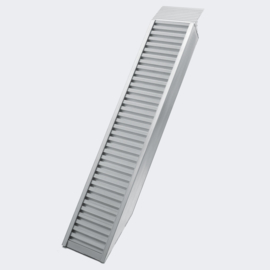 Laadbrug oprijplaat draagbaar aluminium 160cm tot 2025kg
