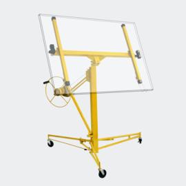 Gipsplaatlift PRO XXL gyproclift heftafel tot 68kg geel