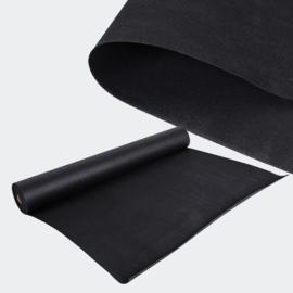 Onkruiddoek 20x1,5m 150g / m² zwart waterbestendig