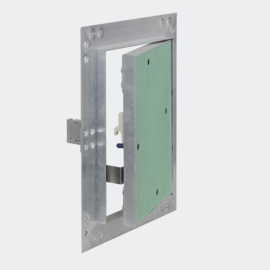Inspectieluik toezichtsluik 20x25cm aluminium frame