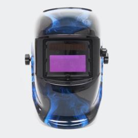 Automatische verduisterende lashelm kleur blauw-zwart