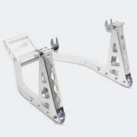 Inrijwielklem motorfiets standaard achterwiel (317kg) aluminium