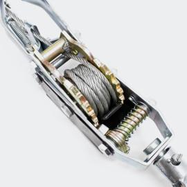 Handkabel lier kabeltrekker 4000kg 3m kabel auto boottrailer