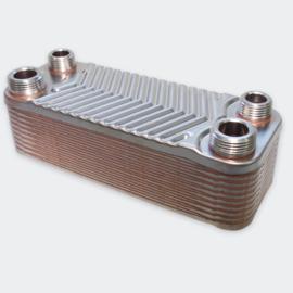 Warmtewisselaar platenwarmtewisselaar 20 platen 44 kW