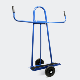Platenwagen platenkar tot 340 kg met 2 massief rubberen wielen