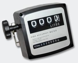 """Brandstofteller doseermeter diesel 3 bar 19-120 l/min aansluiting 1"""""""