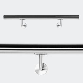 Trapleuning handrail wandbevestiging RVS 50cm