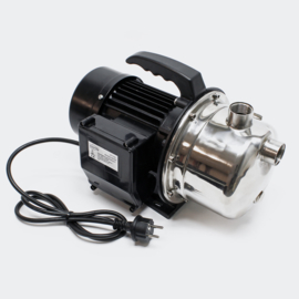 Inox draagbare elektrische tuinpomp 1100W 4600l/h
