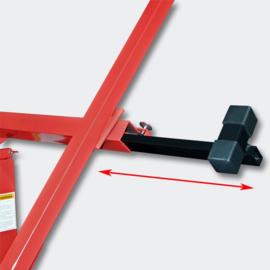 Gipsplaatlift XXL gyproclift heftafel tot 68kg rood