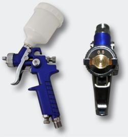 HVLP-spuitpistool H2000P mondstuk van 0,8 mm