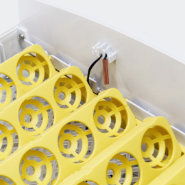 Broedmachine kweekmachine 56 eieren wit zonder schouwlampjes