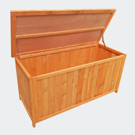 Tuinopberger tuinkussen box houten kist in vurenhout
