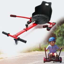 Hoverkart zitje voor Hoverboard rood