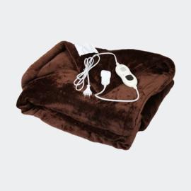 Elektrische deken 180x130cm 120W Timer en automatische uitschakeling