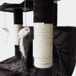 Krabpaal krabboom kattenboom zwart 170cm