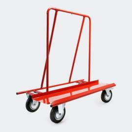 Platformwagen magazijnkar platenwagen tot 800 kg met 4 wielen
