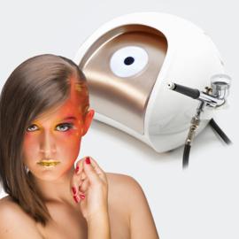 Mini airbrush compressor V6 set 1,2bar make-up design nail art