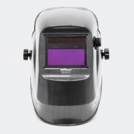 Lashelm automatische verduistering in carbon kleur
